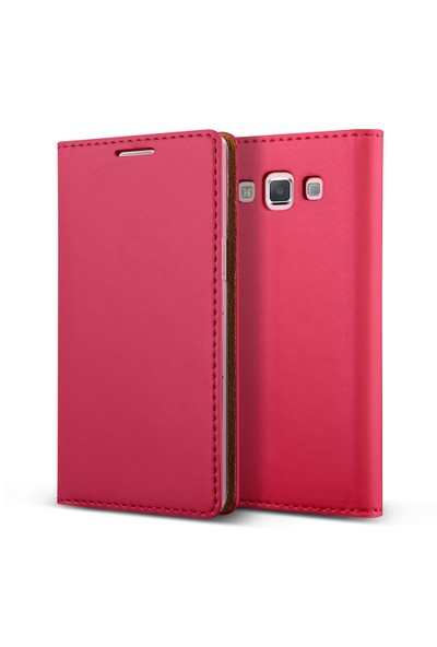 Verus Galaxy A5 Wallet Crayon Slim Diary Kılıf Hot Pink