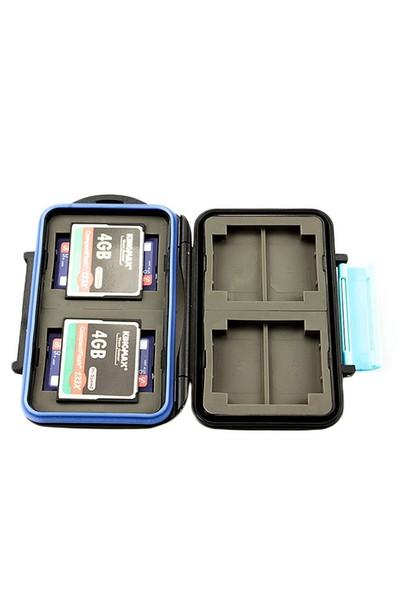 JJC Memory Card Case Hafıza Kartı Kutusu (4 CF Kart & 8 SD Kart)