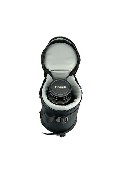 JJC DLP-5 Deluxe Lens Pouch Objektif Çantası (11.8x20.3cm)