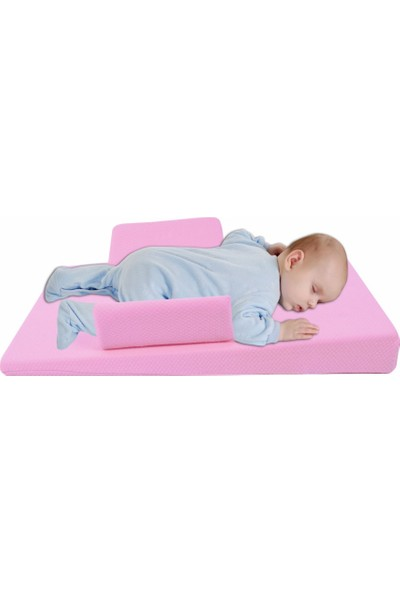 Sevi Bebe Bebek Reflü Yatağı Pembe