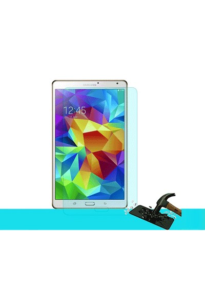 Toptancı Kapında Samsung Galaxy Tab N8000 Kırılmaz Cam Ekran Koruyucu