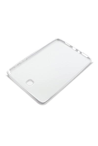 Toptancı Kapında Samsung Galaxy Tab T110 Şeffaf Silikon Kılıf