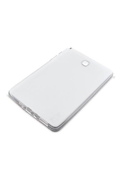 Toptancı Kapında Samsung Galaxy Tab T550 Şeffaf Silikon Kılıf