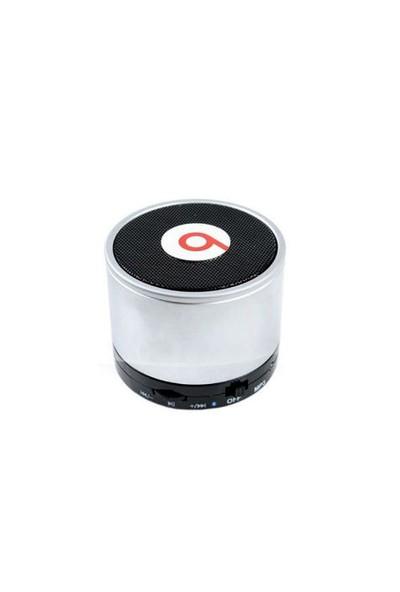 Toptancı Kapında Beatbox Mini Bluetooth Hoparlör - Gümüş