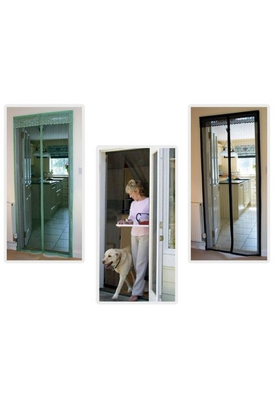 Toptancı Kapında Mıknatıslı Kapı Sinekliği Tülü ( 90X210 )