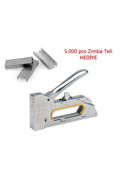 Toptancı Kapında 3 Fonksiyonlu Zımba Tabancası 5.000 Pcs Zımba Teli