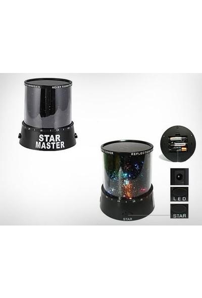 Toptancı Kapında Star Master Projeksiyon Gece Lambası