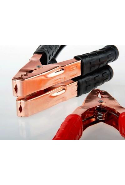 Toptancı Kapında Akü Takviye Kablosu 500 Amper (Taşıma Çantalı)