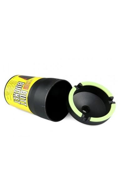 Toptancı Kapında Butt Bucket Fosforlu Araba Küllüğü