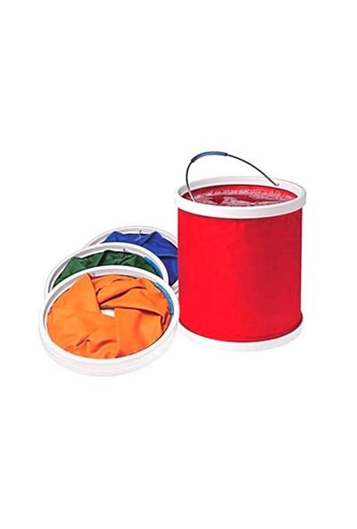 Toptancı Kapında Katlanır Kova Foldaway Bucket