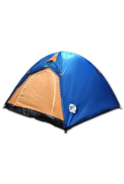 Toptancı Kapında 3 Kişilik Kolay Kurulumlu Kamp Çadırı
