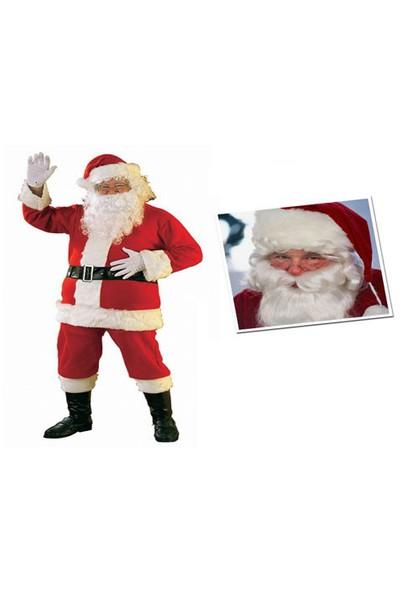 Toptancı Kapında Yılbaşı Özel Noel Baba Kostümü