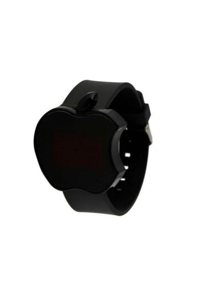 Toptancı Kapında Apple Dijital Led Bileklik Kol Saati -Siyah