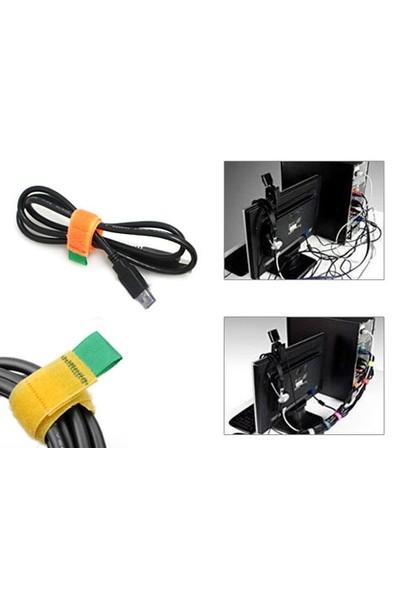 Toptancı Kapında Kablo Düzenleyici Cırt Cırt (6 Adet)