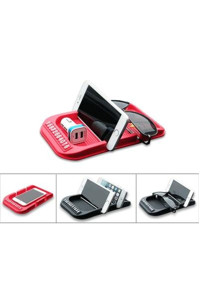 Toptancı Kapında Park Telefon Numaralı Havuzlu Telefon Tutucu