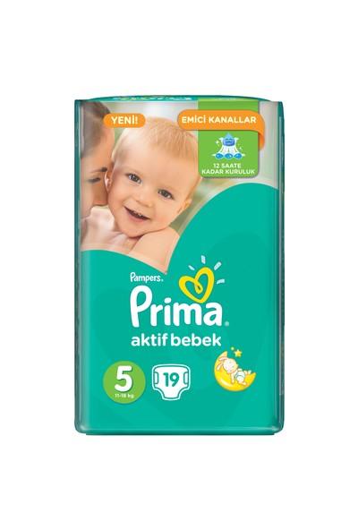 Prima Bebek Bezi Deneme Ürünü 5 Beden 19 Adet