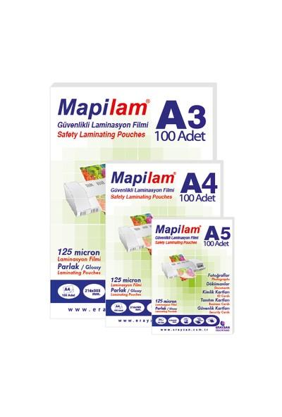 Mapilam 42 Mic A3 Parlak Laminasyon Filmi 200'lü Paket (1020403)
