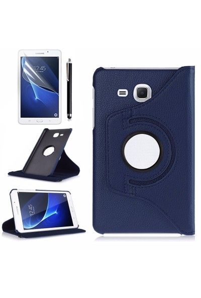 Exclusive Phone Case Samsung Galaxy Tab A T280 Kılıf Tam Korumalı +Tempered Glass+KalemOtg Kablo