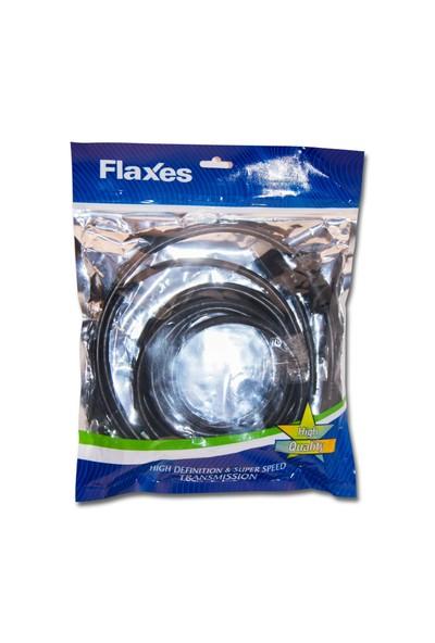 Flaxes FHH-03 HDMI 3MT 1.4VR 3D Altın Uç %100 Bakır Kablo