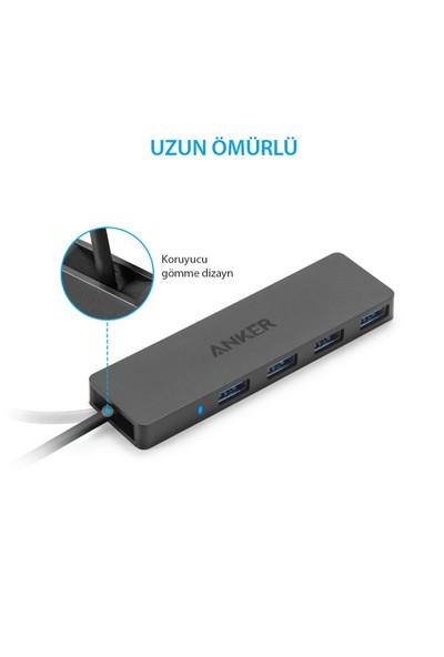 Anker-4 Port Ultra İnce USB 3.0 Data Hub USB Çoklayıcı
