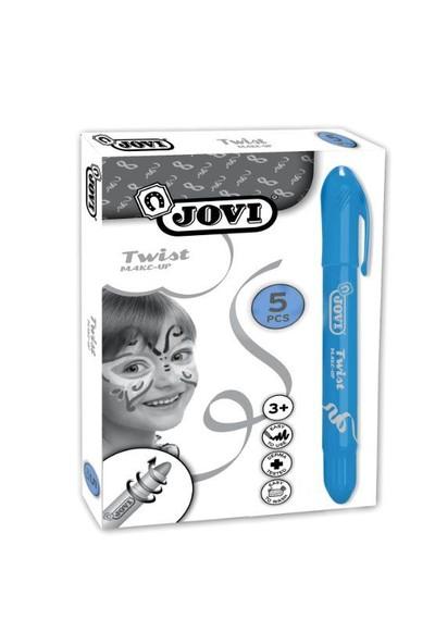 Jovi Twist Stick 5'li LACİVERT Yüz Boyama Kalemi