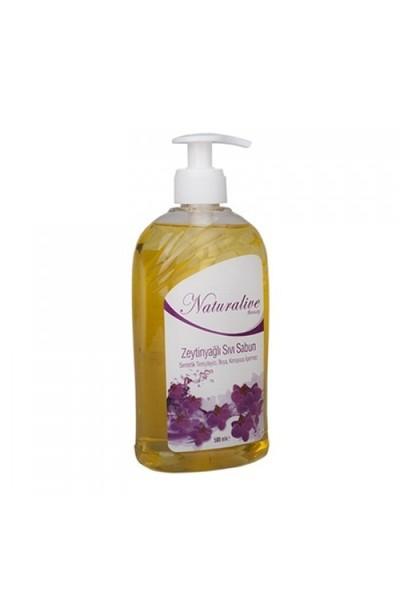 Naturalive Zeytinyağlı Sıvı Sabun (500 Ml)