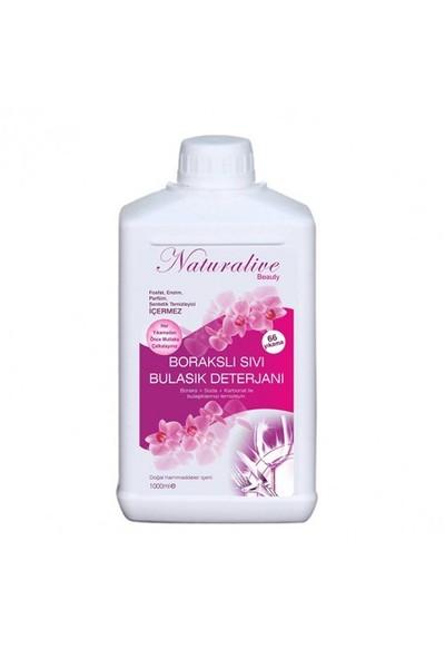 Naturalive Borakslı Sıvı Bulaşık Makinesi Deterjanı (1000 Ml)
