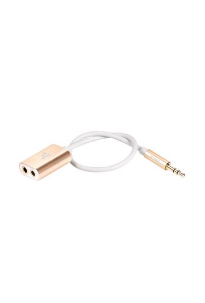 Audio Aux Kablo Çoğaltıcı 2 Port Hoco UA1