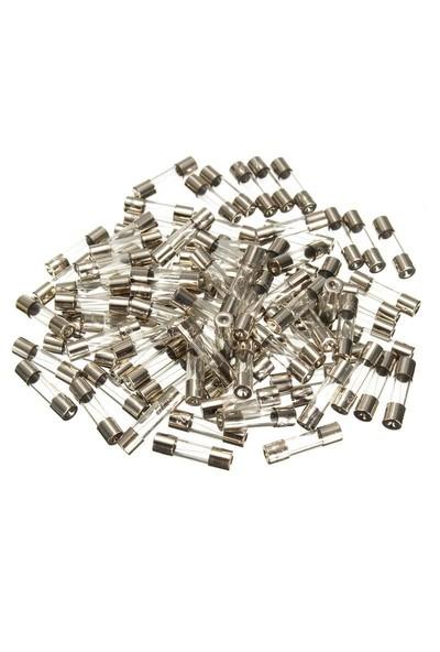 Electroon 2 Amper Küçük Cam Sigorta 5x20mm 100 Adet