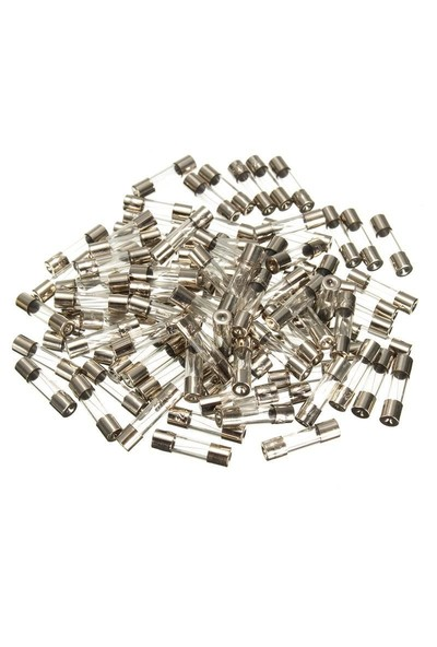 Electroon 10 Amper Küçük Cam Sigorta 5x20mm 100 Adet