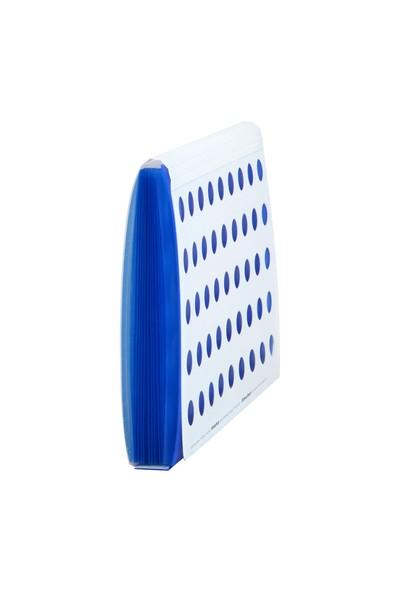 Shuter W13 A4 Evrak Dosyası 13 Gözlü Fantastik Mavi