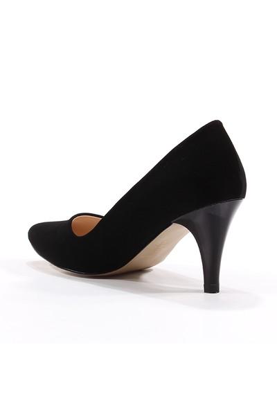 Asm Stiletto Süet Topuklu Ayakkabı