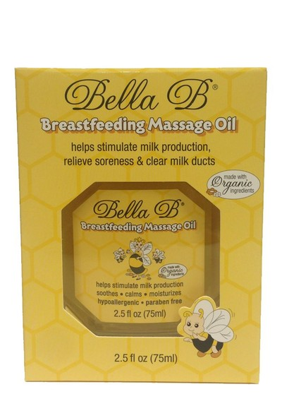 Bella B Breastfeeding Massage Oil 75 ml