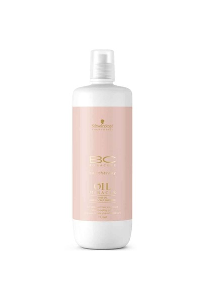 Bonacure Oil Miracle Rosenöl Şampuan 1000Ml