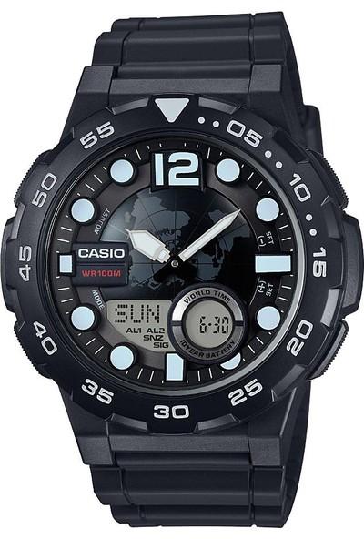 Casio AEQ-100W-1AVDF Digital Erkek Kol Saati