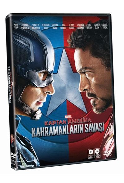 Captain America: Civil War (Kaptan Amerika: Kahramanların Savaşı) (Dvd)