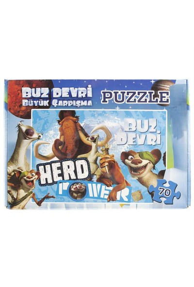 Ice Age 70 Parça Kutu Puzzle