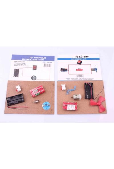 Nani Toys Eğitici Elektrik ve Motor Deney Paketi