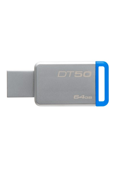 Kingston DataTraveler50 64GB USB 3.0 Bellek  DT50/64GB