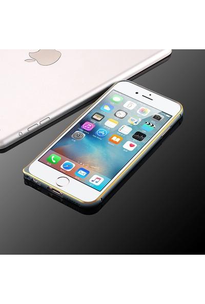 i6 Iphone 6/6S Metal Bumber Gri Çerçeve, Kılıf cin47