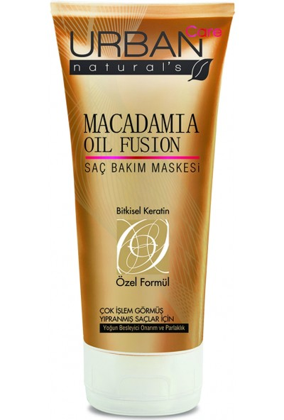 Urban Care Macadamia Oil Fusion Saç Bakım Maskesi 200Ml