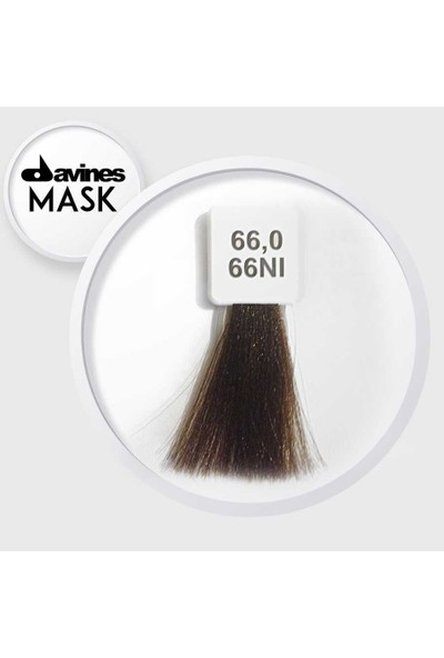 Davines Mask Boya 66.0 / 66NI Koyu Kumral