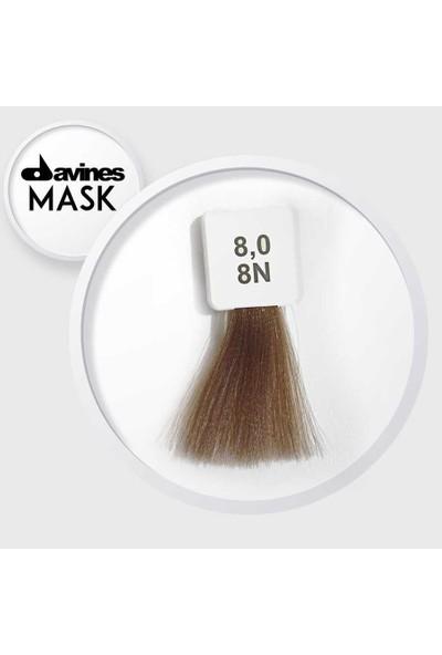 Davines Mask Boya 8.0 8N Açık Kumral