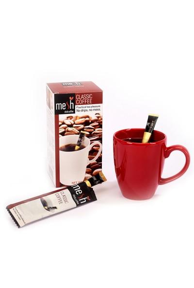 Mesh Stick Uzun Classic Kahve 16'lı