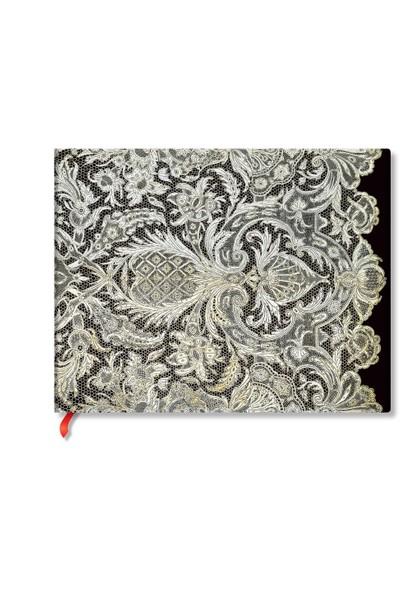Paperblanks Defter 3550-3 Ivory Veil 23x18 Çizgisiz