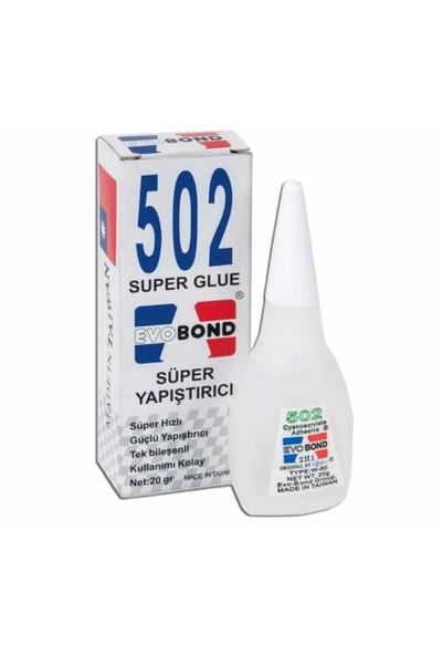 Evo Bond 502 Super Glue Süper Yapıştırıcı Orjinal
