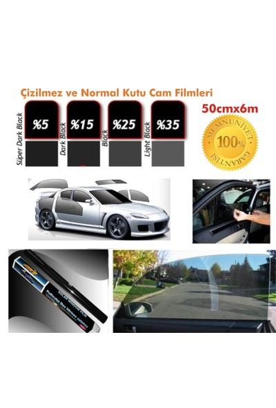 Cam Filmi Kutu Bir Arabalık 50Cmx6M Çizilmez Light Black