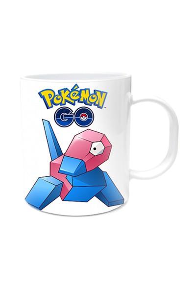 Pokemon Tasarımlı Kupa Bardak Porygon
