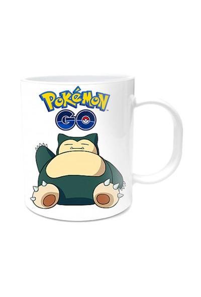 Pokemon Tasarımlı Kupa Bardak Snorlax
