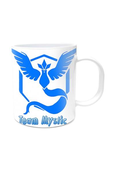 Pokemon Tasarımlı Kupa Bardak Team Mystic